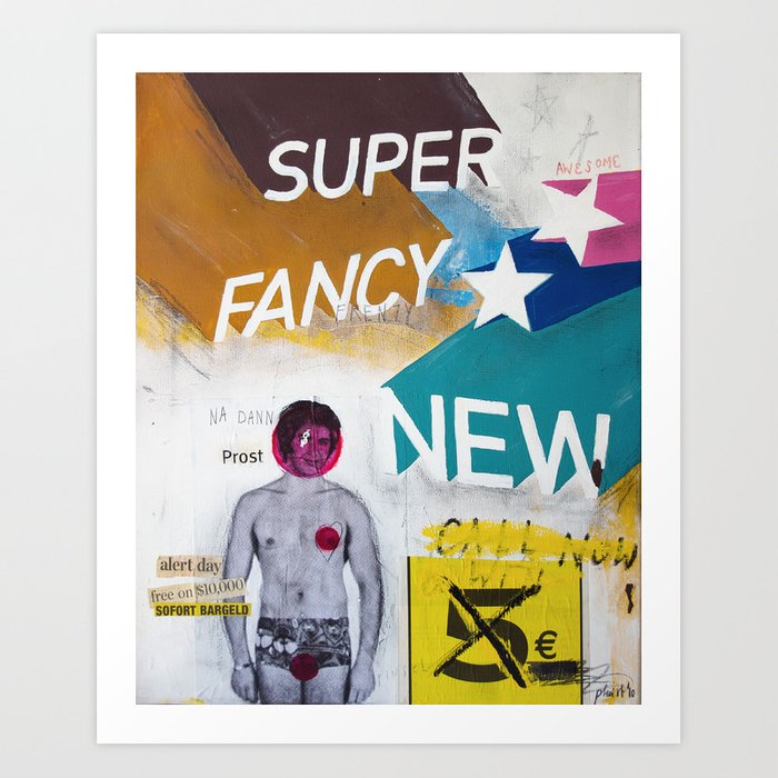 Super fancy new Art Print