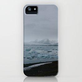 Ice Lagoon iPhone Case
