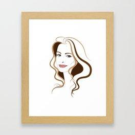 Elegant Framed Art Print