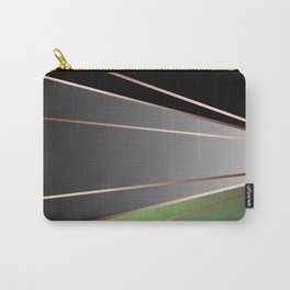 Green, black, grey. Carry-All Pouch