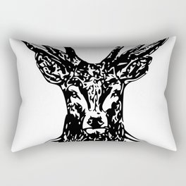 Diamond Stag Rectangular Pillow
