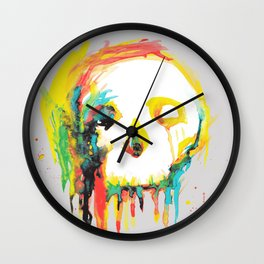 Happy/Grim Wall Clock