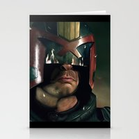 ed sheeran Stationery Cards featuring Dredd[ed] by Mel Hampson