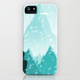 Traveller- winter iPhone Case