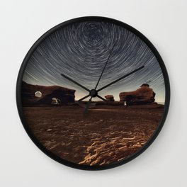 The Erosion of the Stars Wall Clock