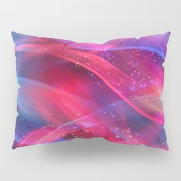 Abstract Shiny Night Lights 18 Pillow Sham