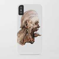 pain iPhone & iPod Cases featuring Pain by Roland Prinsler