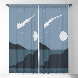 Cat Landscape 43 Blackout Curtain