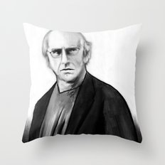 DARK COMEDIANS: Larry David Throw Pillow