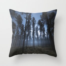 I still can hear you breathe Throw Pillow