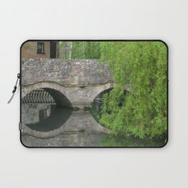 By the Old Mill Stream Laptop Sleeve