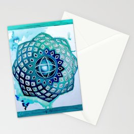 Introverted Machine Stationery Cards