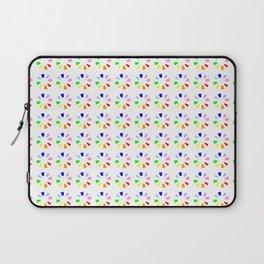 Chromatic circles 2 Laptop Sleeve