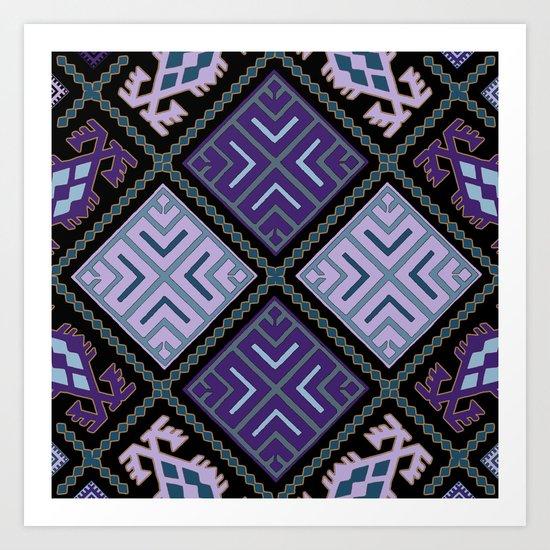 Pattern 025 Art Print