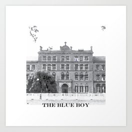 The Blue Boy Art Print
