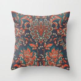 Baroque Vintage Pattern Throw Pillow