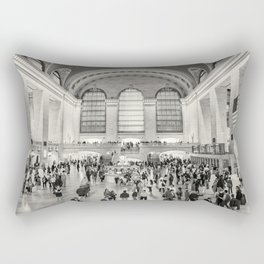 Grand Central Terminal monochrome Rectangular Pillow