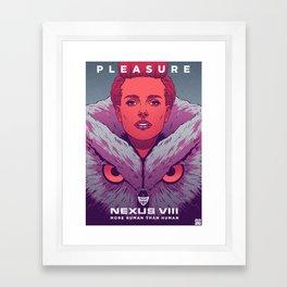"""More Human Than Human"" Framed Art Print"