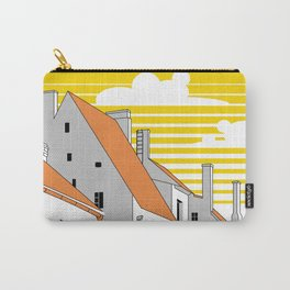 Medieval houses Carry-All Pouch