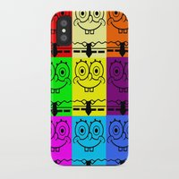 spongebob iPhone & iPod Cases featuring Spongebob by chauloom