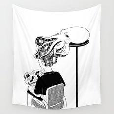 Octopus Salon Wall Tapestry