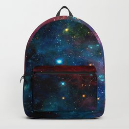 Cosmic Connection, Galaxy, Space, Nebula, Stars, Planet, Universe, Backpack