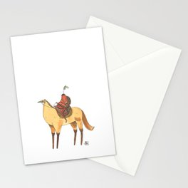 Numero 2 -Cosi che cavalcano Cose - Things that ride Things- NUOVA SERIE - NEW SERIES Stationery Cards