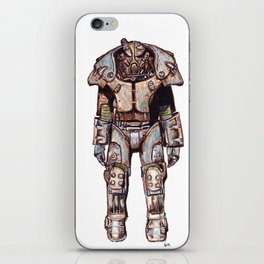 X-01 Power Armour iPhone Skin