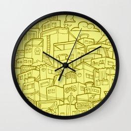 #MoleskineDaily_35 Wall Clock