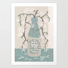 cordial union Art Print