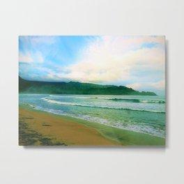 Hanalei Bay Kauai Metal Print