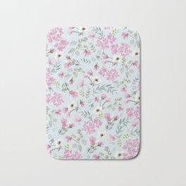 Romantic Pink patern Bath Mat