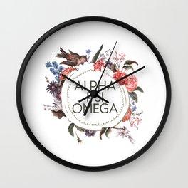 Alpha Psi Wall Clock