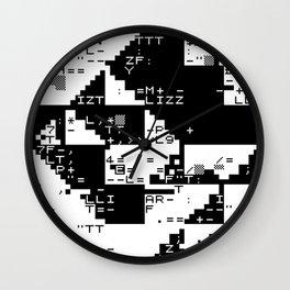 lizz/glch Wall Clock