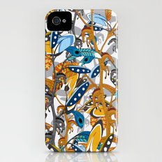 Multicolor Horse Feathers Slim Case iPhone (4, 4s)