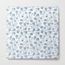 Clover pattern Metal Print