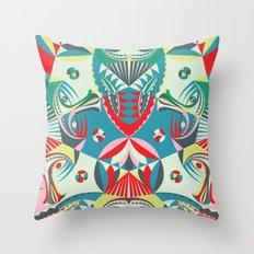 visitor Throw Pillow