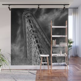 Flat Iron Monochrome Wall Mural