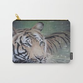 Tiger in water Carry-All Pouch