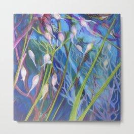 Sagebrush Sanctuary with Wild Grass Metal Print