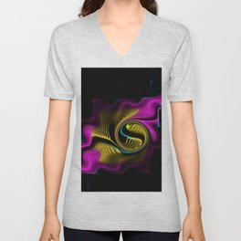 Whispers in the Night Unisex V-Neck