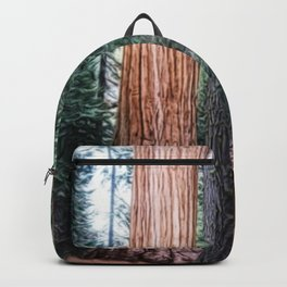 Alder Creek Giant Sequoia Grove California Backpack