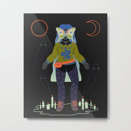 Witch Series: Seance Metal Print