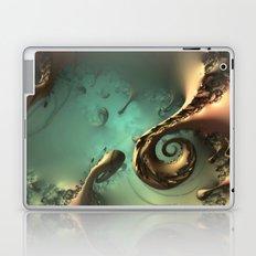 Waxy Spirals #2 Laptop & iPad Skin