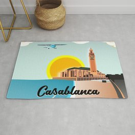 Casablanca Morocco Rug