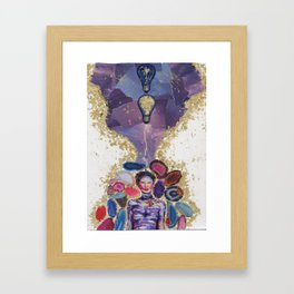 Brainstorm Framed Art Print