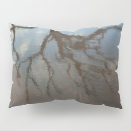 Dead Tree Reflection Pillow Sham