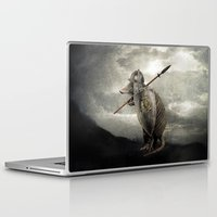 eric fan Laptop & iPad Skins featuring Armadillo by Eric Fan & Viviana González by Eric Fan