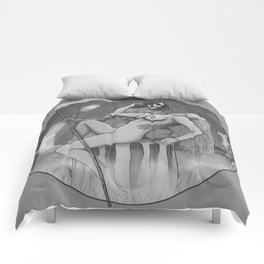 LOVE AND DEATH Comforters