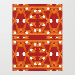 Geometric abstract design for your creativity Poster